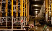 Amsterdam, Noordzuidlijn in aanbouw